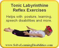 Tonic Labrynthine Reflex Exercises