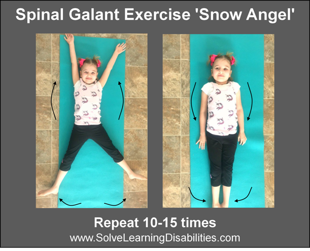Retained Spinal Galant Reflex | Solve Learning Disabilities
